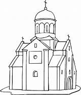 Coloring Church Building Pages Empire State Printable Drawing Churches Outline Medieval Dome Cathedral Drawings Freecoloringpagefun Getdrawings Indiana Jones Getcolorings Bridge sketch template