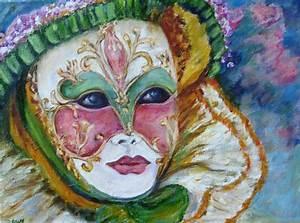 Masque Pour Peinture : dawy peinture l 39 huile masque v nitien e ~ Edinachiropracticcenter.com Idées de Décoration