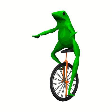 Unicycle Meme - dat boi frog on unicycle meme mug teepublic