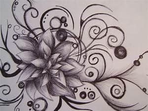 20+ Flower Drawings, Sketches | Design Trends - Premium ...