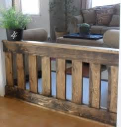 Wood pet gates indoor foter for Dog fence for inside house