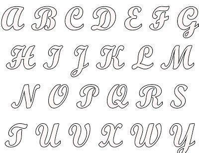pics moldes letras cursiva para imprimir abecedario dise 241 os de letras moldes