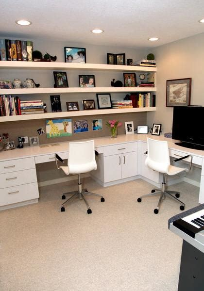 long desks for home office space saving ideas and furniture placement for small home