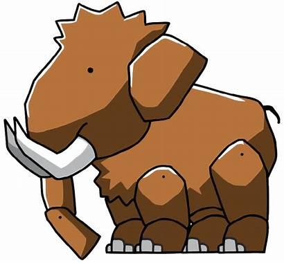 Mammoth Woolly Scribblenauts Wikia Unlimited Wiki