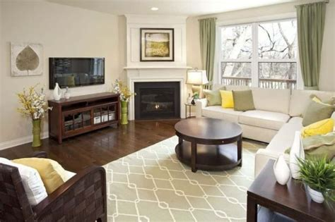 Living Room With Sectional And Corner Fireplace by Living Room With Sectional Sofa And Corner Fireplace Add
