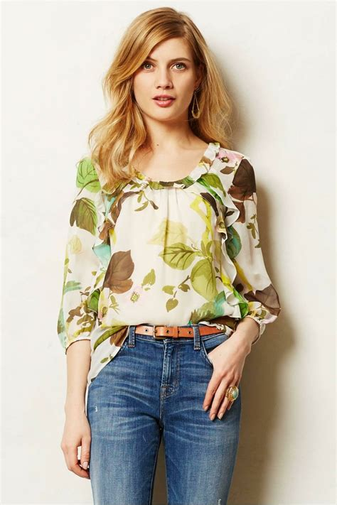 anthropologie blouses 1000 images about bluzki i żakiety on chiffon