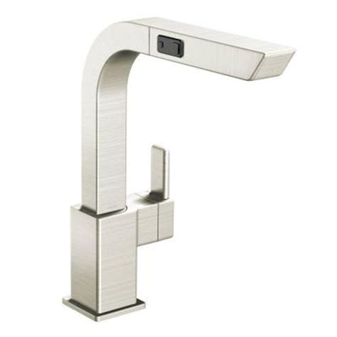moen 90 degree single handle pull out sprayer kitchen