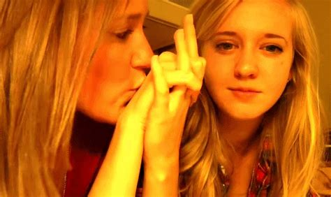 Lesbian Couple Lesbian Kiss Kaelyn And Lucy Lucy Elizabeth Kaelyn Petras Zesusfries