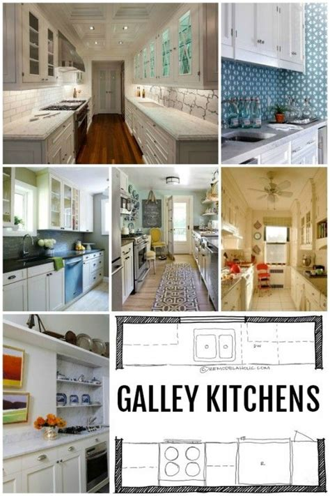 kitchen design galley kitchen layouts  remodelaholiccom kitchen design remodeling