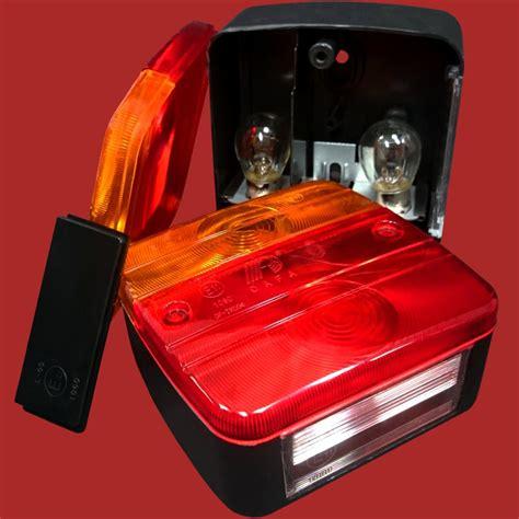 anhänger beleuchtung komplett set 12 tlg anh 228 nger beleuchtung set modernisierungsset r 252 ckstr