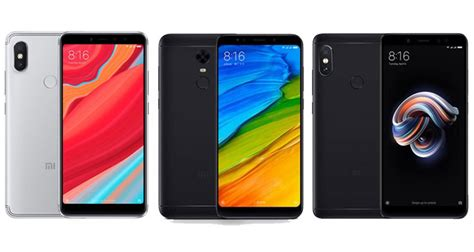 xiaomi redmi s2 vs redmi 5 plus vs redmi note 5 sub 200