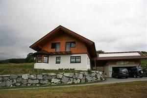 Haus Mit Holzfassade : referenzen details holzbau k rnten ihr wohntraum aus holz massiv ~ Markanthonyermac.com Haus und Dekorationen