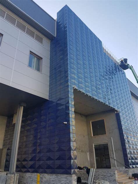 exterior pvdf  wall cladding acp aluminum panel curtain wall  chameleon color