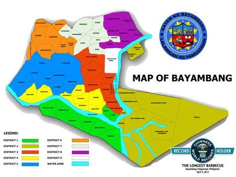 Map Of Bayambang  Balon Bayambang