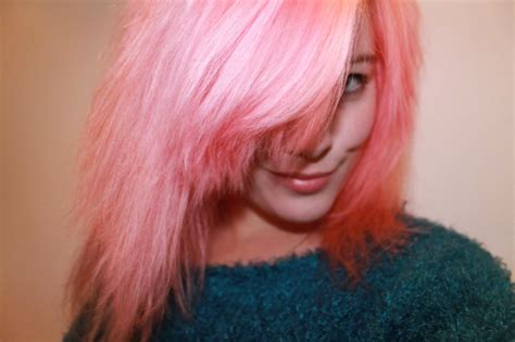 Rose Pink Permanent Hair Color