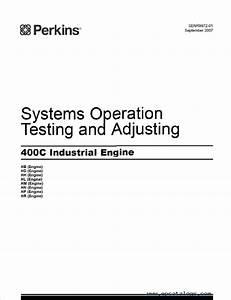 Jcb Download Perkins 400c Industrial Engine Operation Maintenance