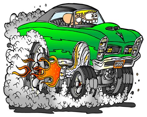rat rods cartoons hot rod cartoons creekrat cartoons