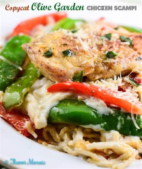 Copycat Olive Garden Chicken Scampi  Flavor Mosaic