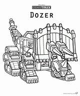 Dinotrux Coloring Pages Dozer Printable Bettercoloring sketch template