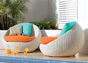 Rattan Chair Cushion by Muebles De Jard 237 N Modernos Decoraci 243 N De Interiores Y