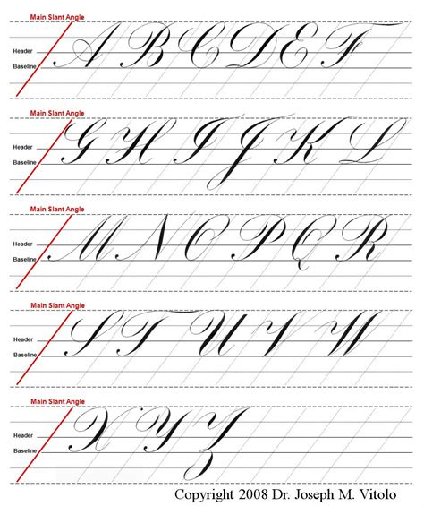 Capital Letters In Cursive  Cover Letter Example