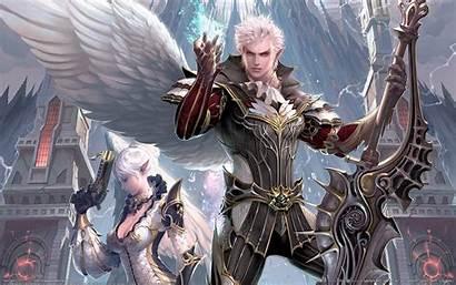 Lineage Rpg Fantasy Ii Games Elf Wallpapers