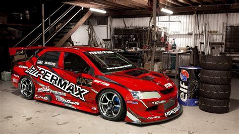 1080p Mitsubishi Wallpaper Hd by Mitsubishi Lancer Evolution In Garage Hd Wallpaper 1080p
