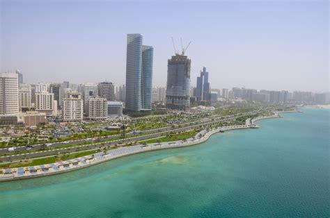 Corniche Abu Dhabi Abu Dhabi Corniche Green