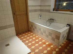 faience de salle de bain fabricant de carrelage retro With vieux carrelage salle de bain