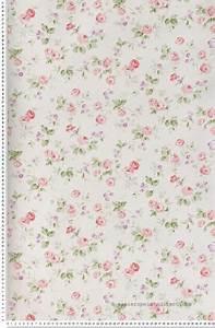 liberty rose et violet papier peint lutece papier With affiche chambre bébé avec bouquet de fleur blanc