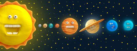 Cartoon Funny Solar System On Behance