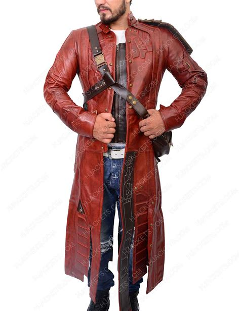 star lord coat  guardians   galaxy  peter quill