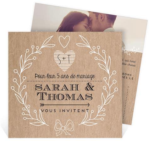 anniversaire de mariage 3 ans texte texte invitation anniversaire de mariage 5 ans meilleur