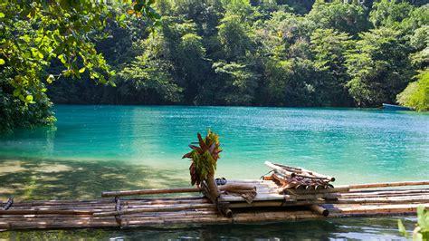 una laguna unica en jamaica