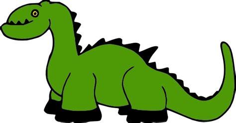 Dinosaur Cartoon Clip Art Free Vector In Open Office