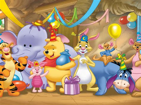 Download Winnie The Pooh Birthday Wallpaper Gallery
