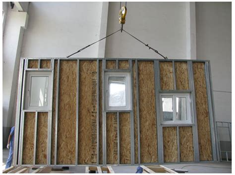 designed prefabricated commercial small high rise building  wall panels buy
