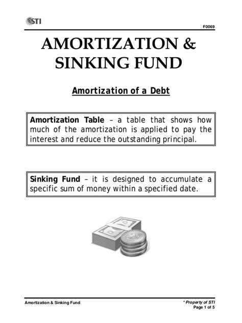 definition of sinking fund in property wk 6 session 15 17 slides 1 5 amortization sinking fund