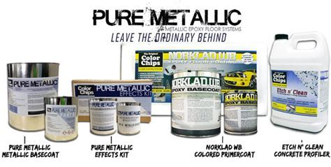 Pure Metallic   Metallic Epoxy Floor Coatings