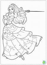 Coloring Three Muskateer Musketeers Popular Barbie sketch template