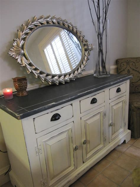 Ugly Buffet/Hutch to a Kitchen Storage Swan   Houston