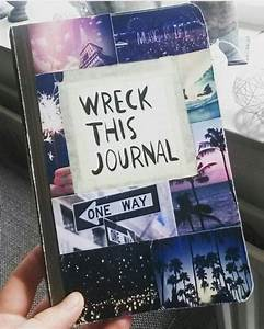 Wreck this journal cover idea tumblr pictures wreck this ...