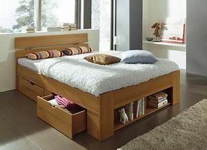 Bett Mit Stauraum 140x200 : bett in verschiedenen ausf hrungen betten bader ~ Orissabook.com Haus und Dekorationen