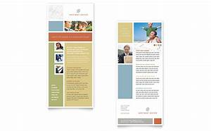 Investment advisor rack card template word publisher for Rack card template for word