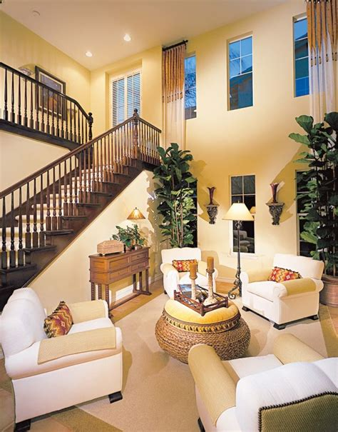Decorating Ideas For Living Room With High Ceilings by High Ceiling Wall Decoration Ideas Design