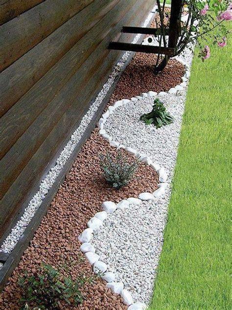 Garden Decoration Pebbles 25 pebble garden decoration ideas houz buzz