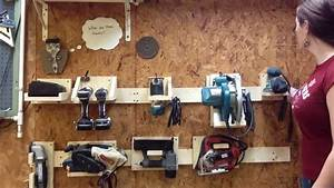 DIY French Cleat Tool System - YouTube