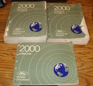 Details About 2000 Ford Windstar Shop Service Manual