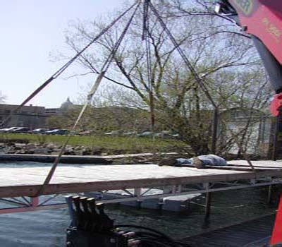 Boat Canopy Cleaning Company by Services D L Company