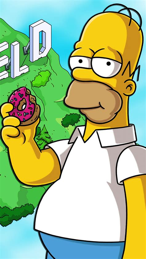 Ultra HD Homer Simpson Wallpaper For Your Mobile Phone 0424